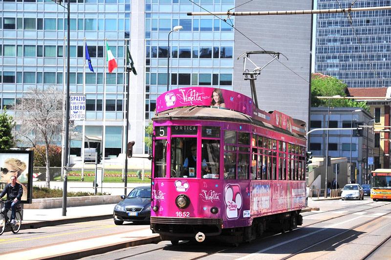 Disney lancio serie Violetta Hero Comunicazione Tram