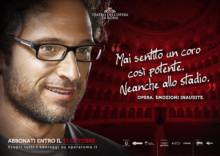 Teatro dell'Opera di Roma Campagna Abbonamenti - Ragazzo - Hero Comunicazione