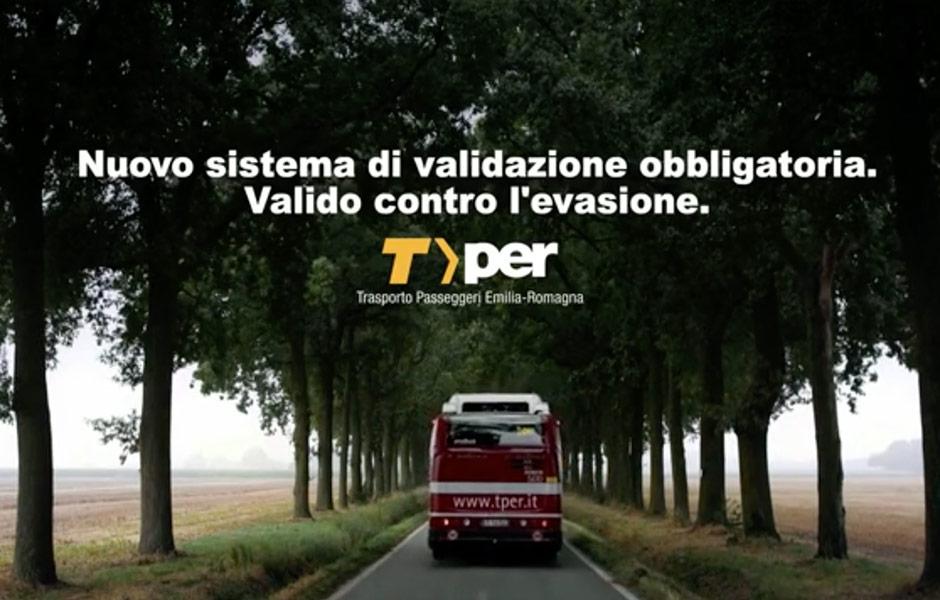 Spot TPER Trasporto Passeggeri Emilia Romagna Hero Comunicazione