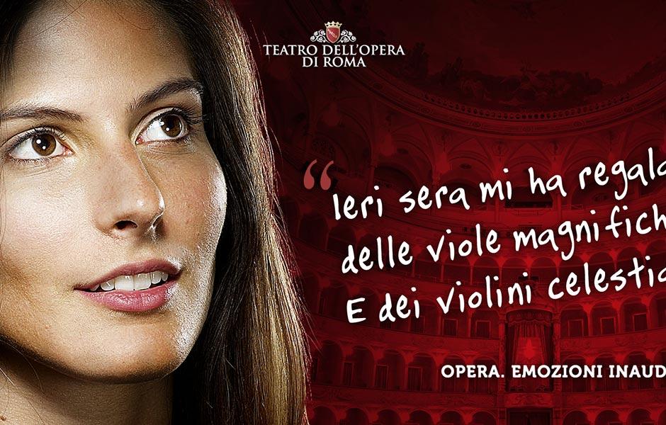 Teatro dell'Opera di Roma Campagna Abbonamenti Hero Comunicazione