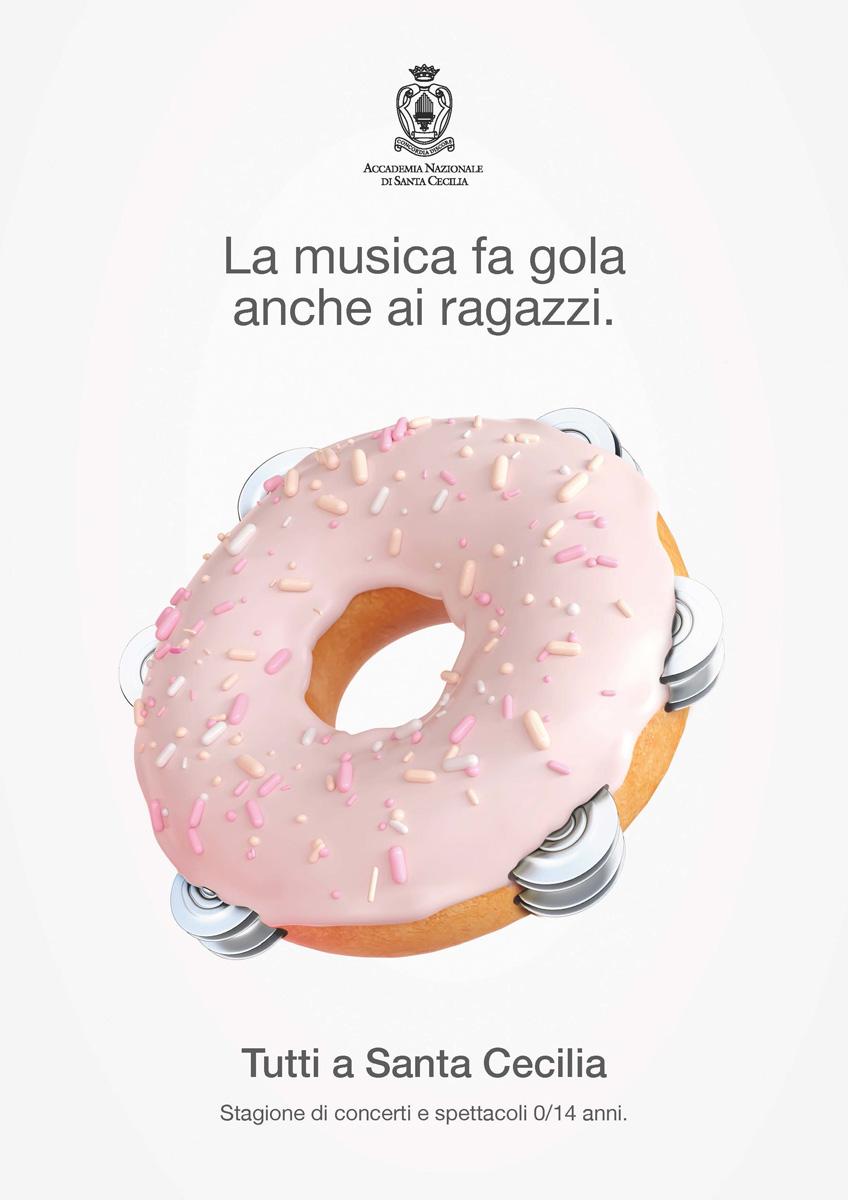 Campagna affissione Auditorium Santa Cecilia