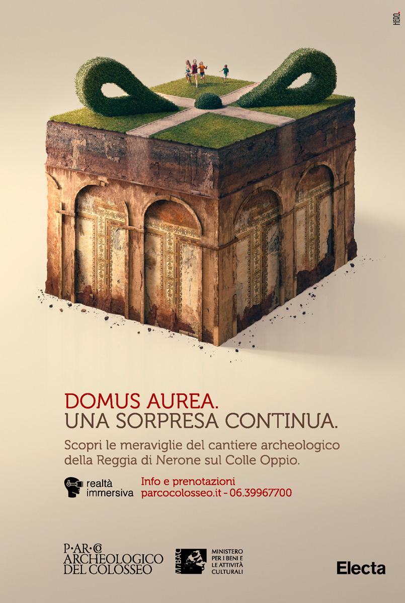 Campagna Pubblicitaria Domus Aurea Electa