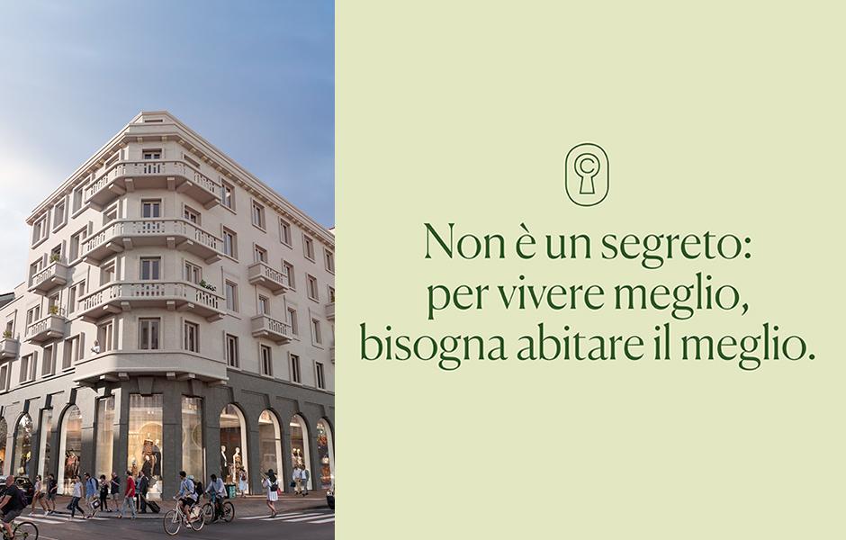 Campagne pubblicitarie per Meyer Bergman Corti Segrete Corso Buenos Aires Milano