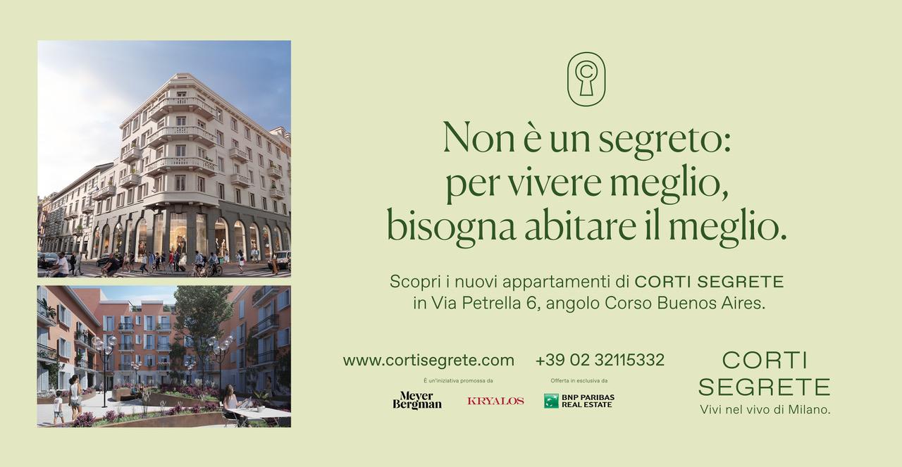 Campagna Affissione 6x3 Corti Segrete Milano